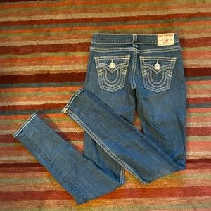 Like new True Religion Julie Big QT thick woven